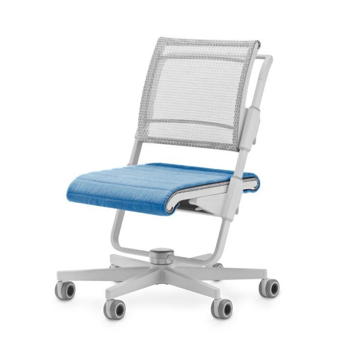 2020 stol Unique S6 siv seat Light Blue