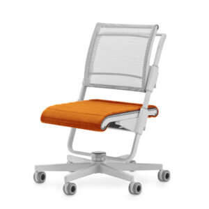 2020 stol Unique S6 siv seat Orange