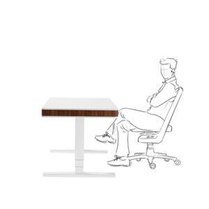 бюро moll T7 за работа седнал