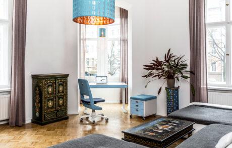 moll 2020 unique office blue 13 M