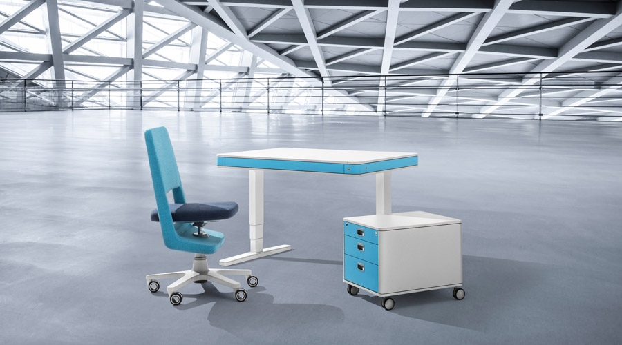 moll 2020 unique office blue M