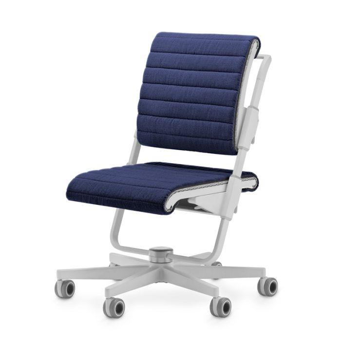 stol moll S6 siv dunkelblau dunkelblau