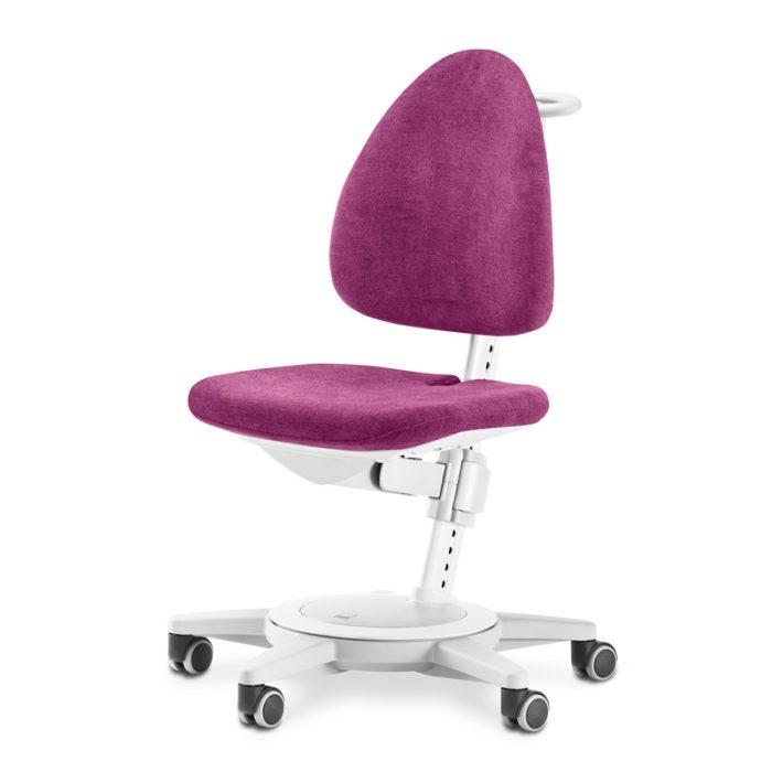 ергономичен стол за офиса с бяла рамка