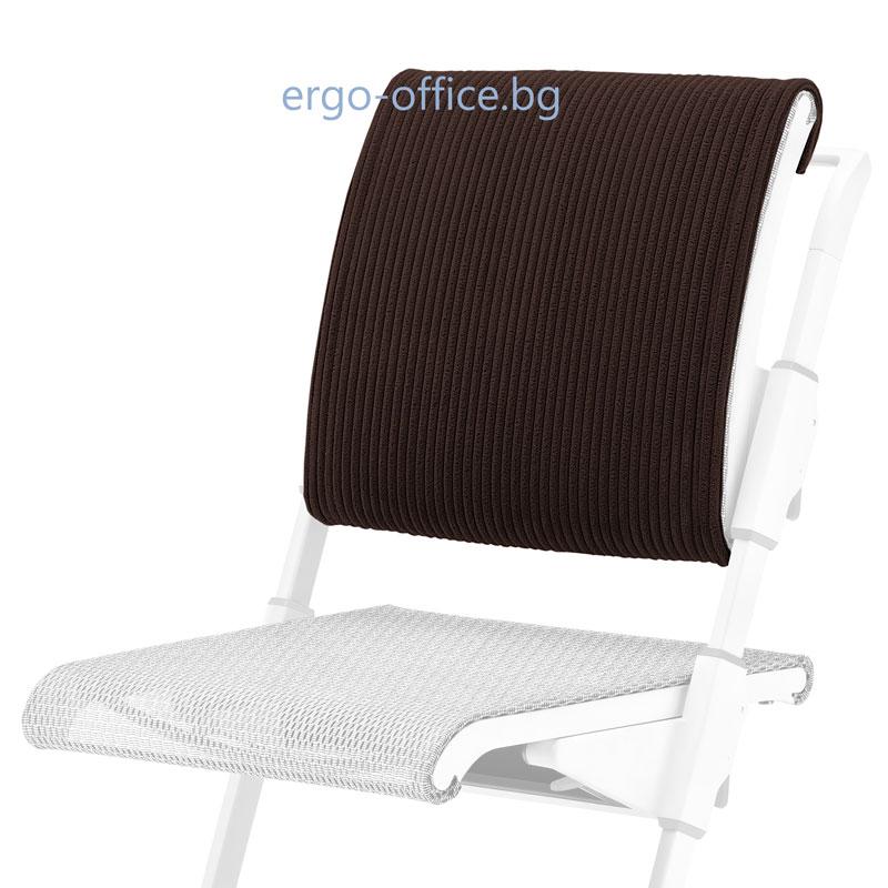 възглавничка за облегалката на стол S6 Espresso