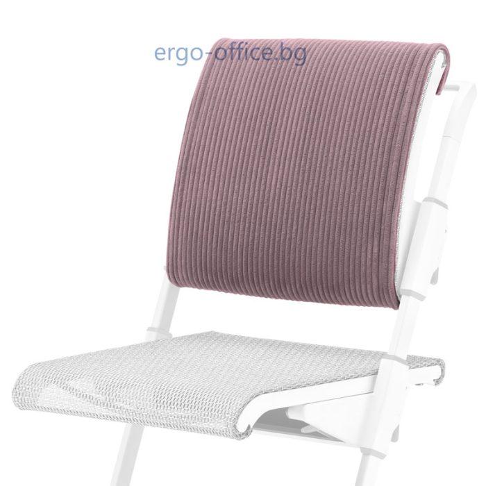 back cushion moll S6 Ribcord Lavender