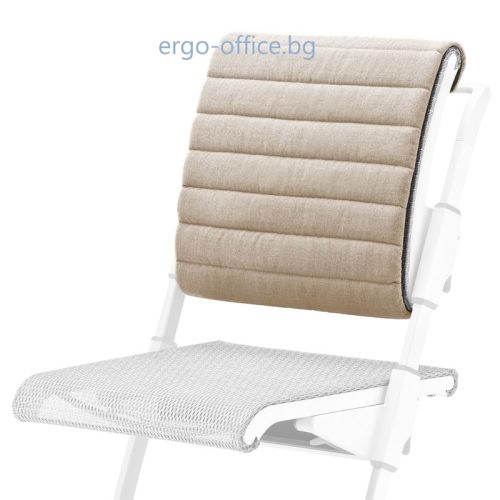 възглавничка за облегалката на стол Unique S6 бежова