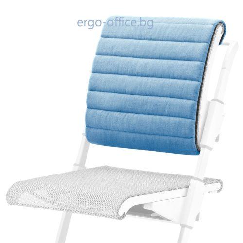 възглавничка за облегалката на офис стол