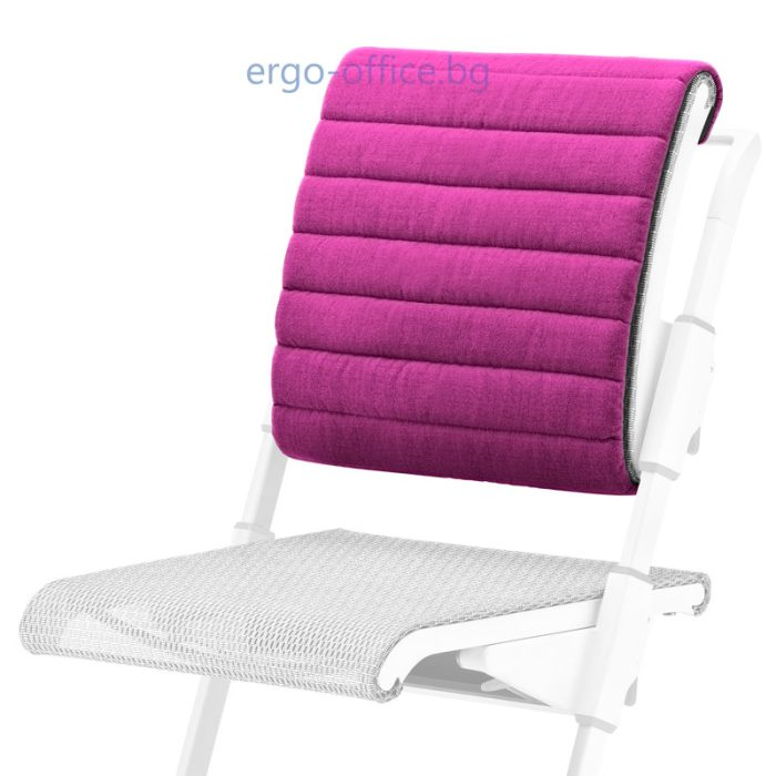 възглавничка за облегалката на стол Unique S6 розова