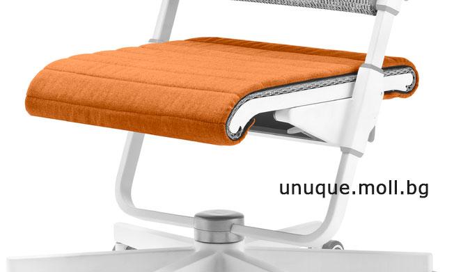sedalka stol s6 oranjeva