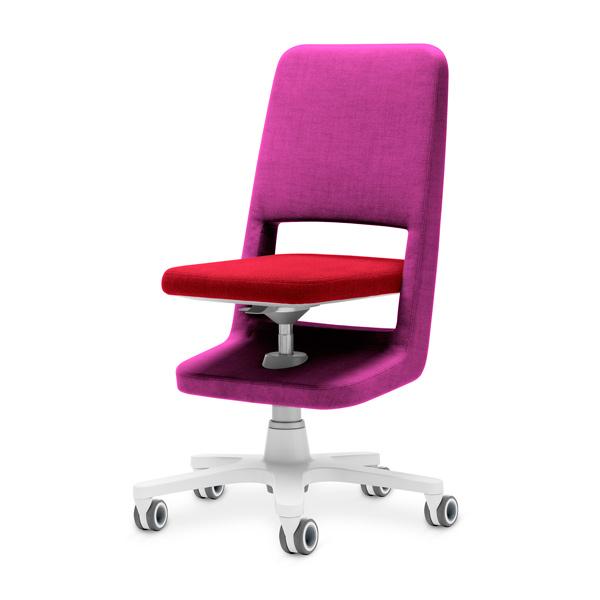 stol moll s9 rozova oblegalka chervena sedalka