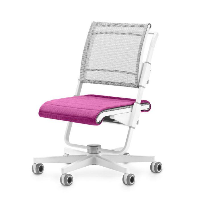 stol moll unique s6 rozova sedalka