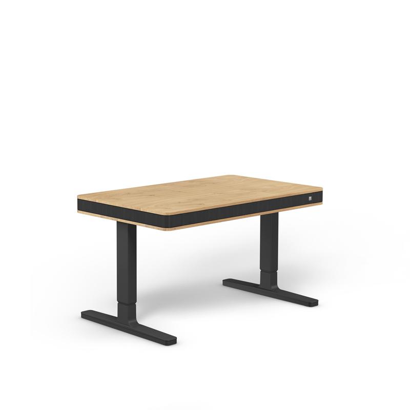 Дизайнерско електрическо бюро unique T7 exclusive, черни крака дъб