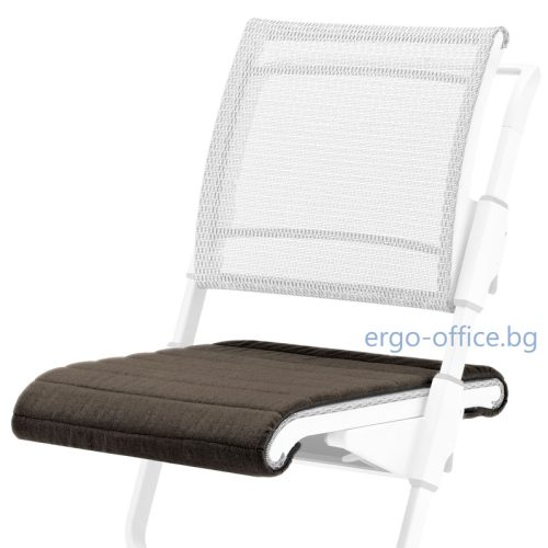 seat cushion moll S6 Uni DarkBrown
