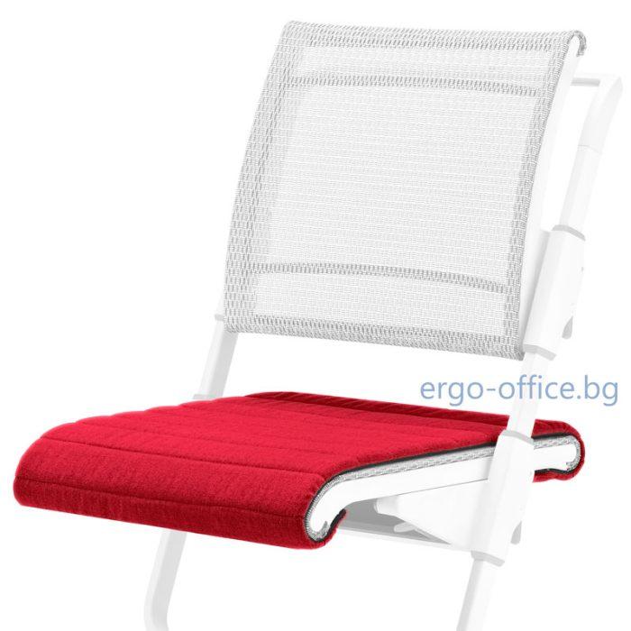 seat cushion moll S6 Uni Red