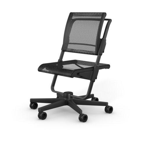 ергономичен стол unique S6 черен